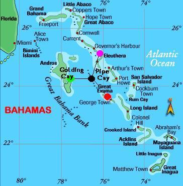 Test Map Of Bahamas Map Of Abaco Map Of Eleuthera Map Of World - Where are the bahamas