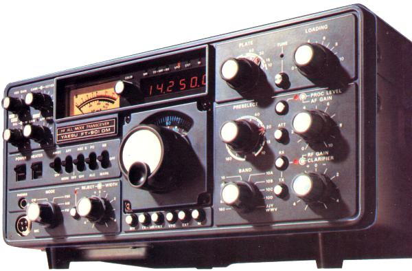 AMATEUR RADIO AT ALERT: THE STATION THROUGH THE YEARS Click to enlarge