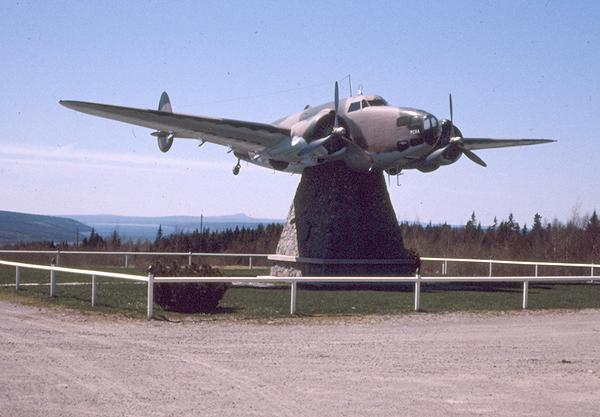gander airport as seen in 1970 photo by bill collings submitted by