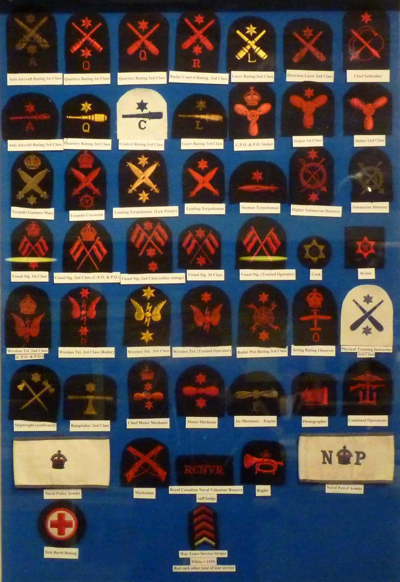 Us navy ww1 radio operator patch