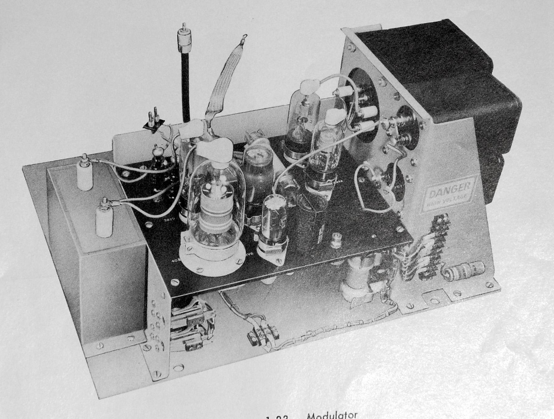 asdic radar and iff systems aboard hmcs haida part 9 of 10 image courtesy sperry marine
