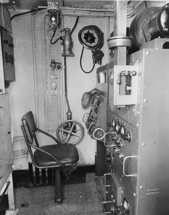 Asdic radar and iff systems aboard hmcs haida part 8 of 10 the sw1c radar installation aboard hmcs montreal k319 taken on february 7th 1944 montreal was a river class frigate public archives canada photo publicscrutiny Image collections